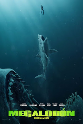 Megalodón Poster - The Meg